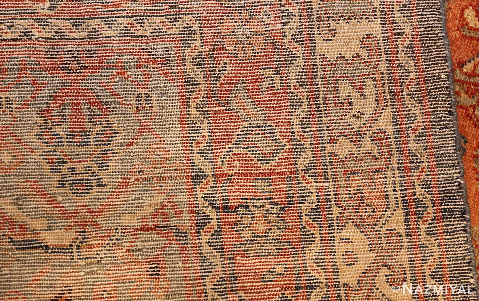 antique tribal persian malayer rug 47506 weave Nazmiyal