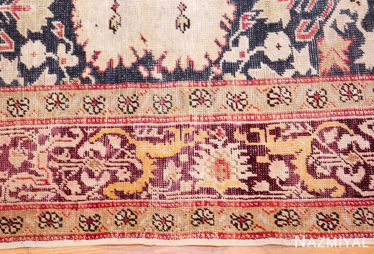 antique turkish sivas rug 50037 border Nazmiyal