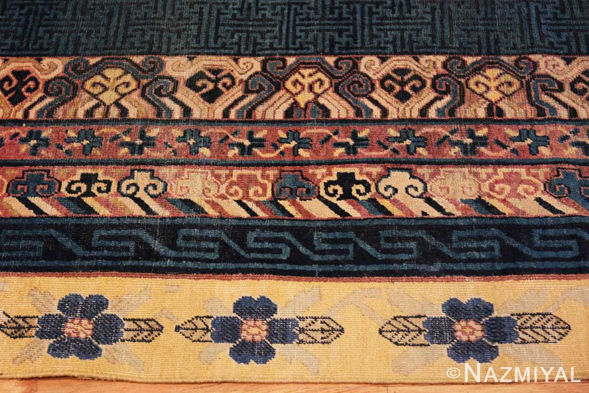 Border Antique Khotan runner rug from east Turkestan 48427 by Nazmiyal