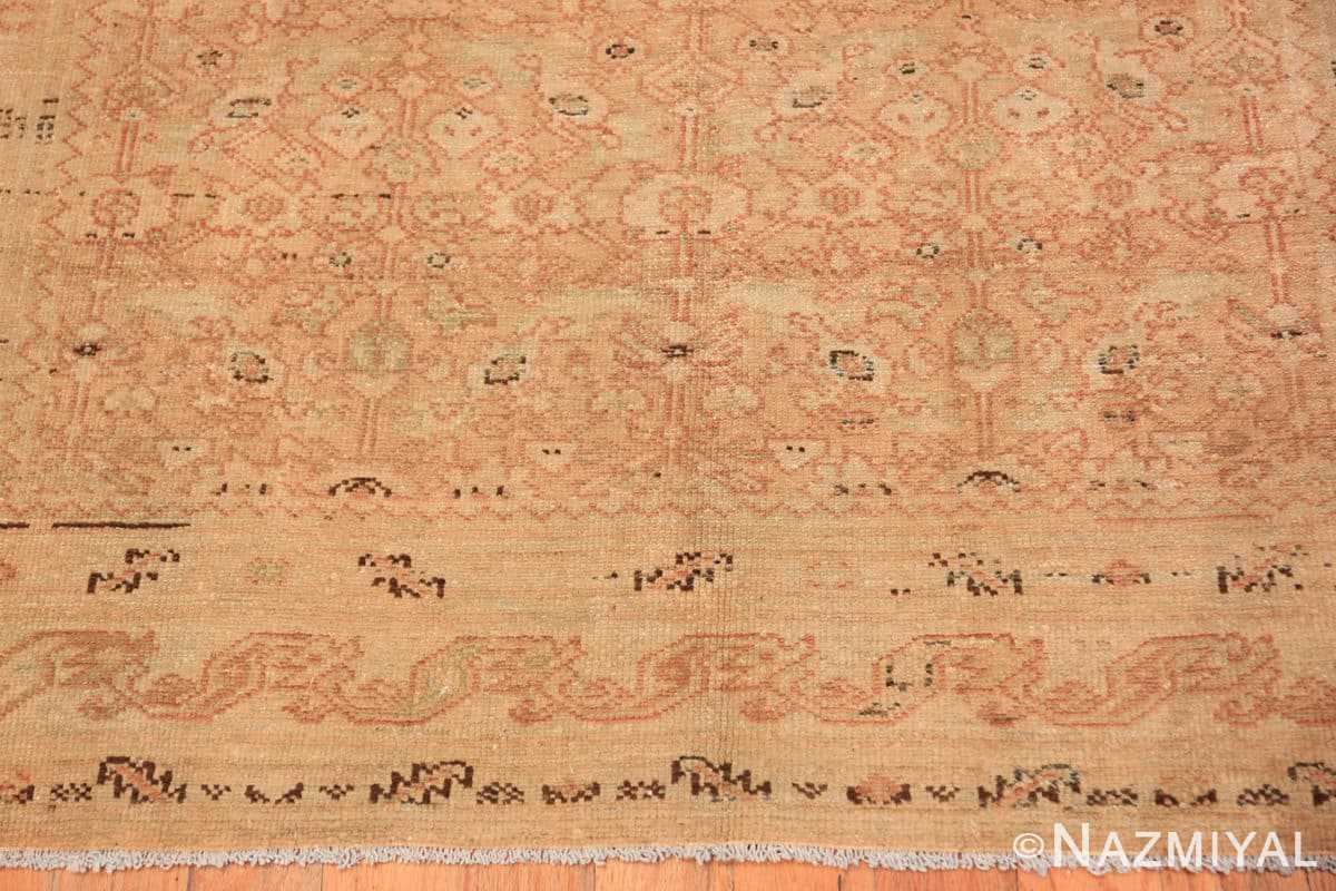 Border Antique Persian Malayer runner 48308 by Nazmiyal