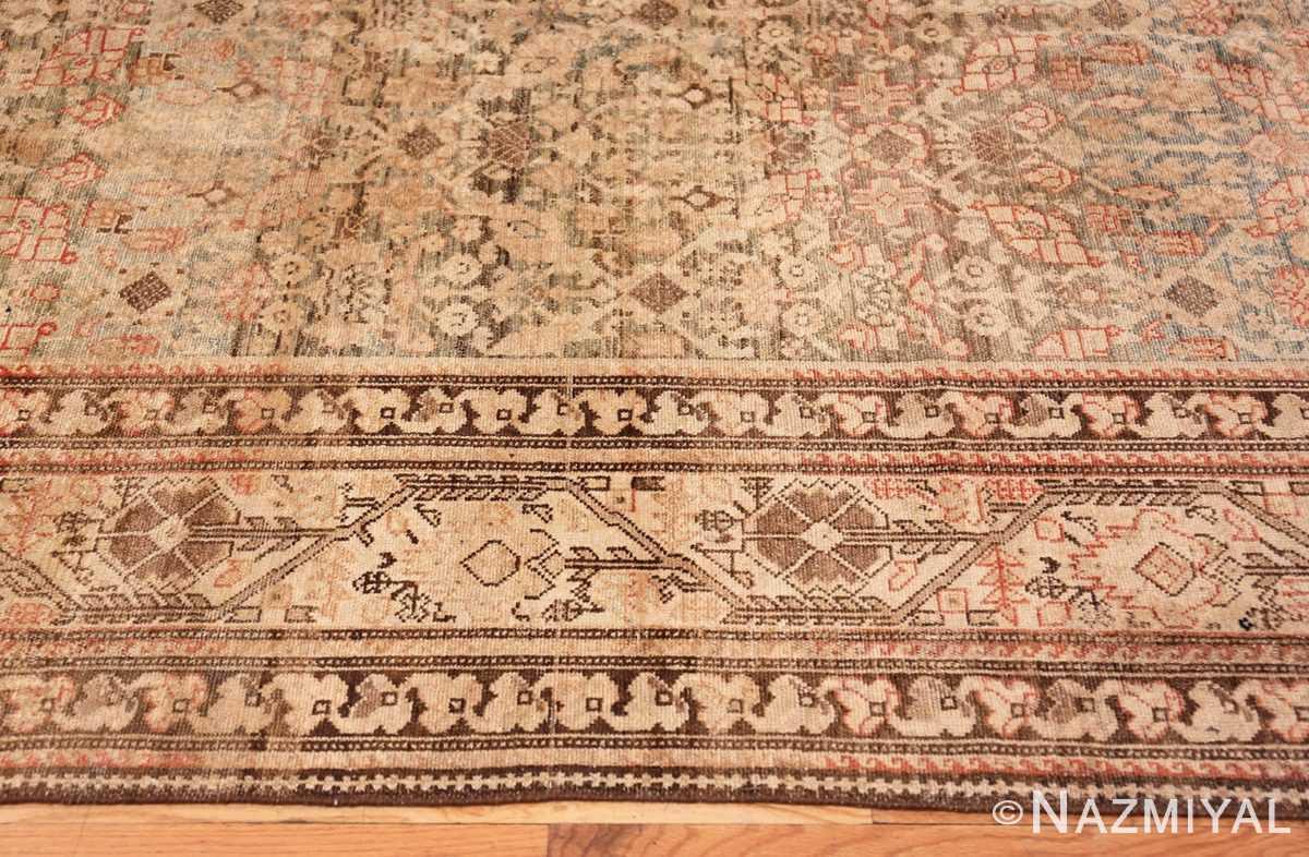 Border Large decorative Antique Persian Malayer rug 50067 by Nazmiyal