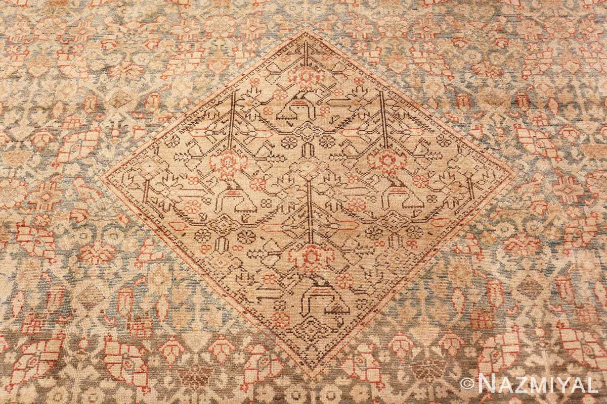 Center Large decorative Antique Persian Malayer rug 50067 by Nazmiyal