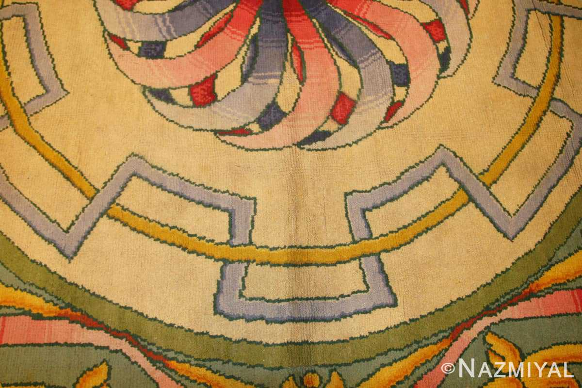 Center Oversized Spanish Art deco carpet 50065 by Nazmiyal