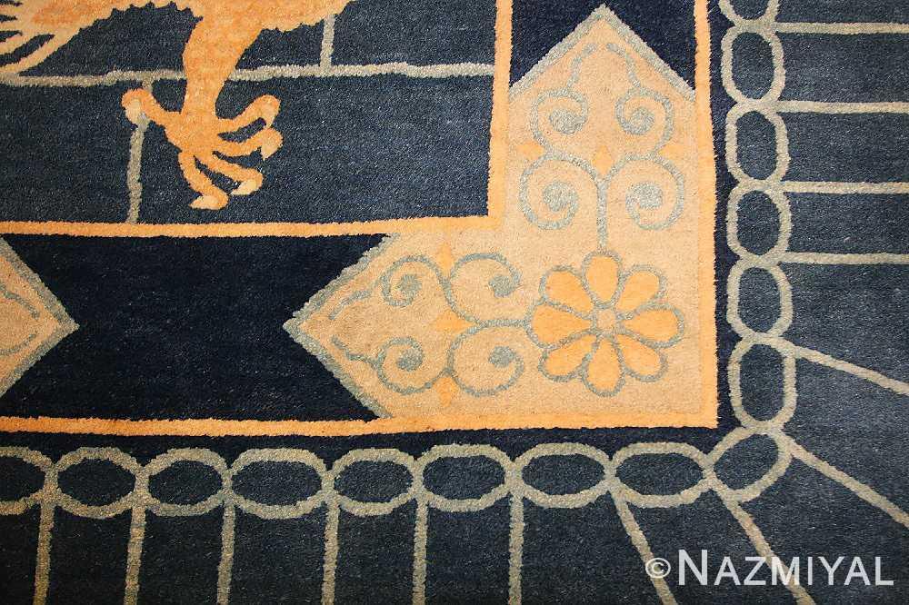 chinese art deco rug 50122 corner Nazmiyal