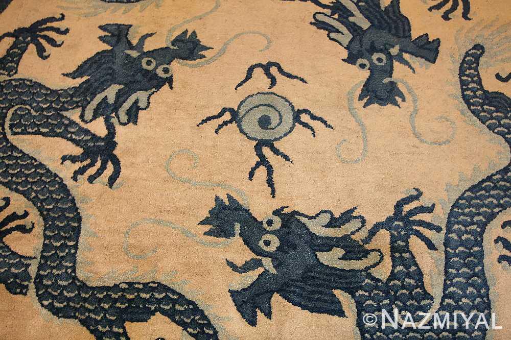 chinese art deco rug 50122 pile Nazmiyal