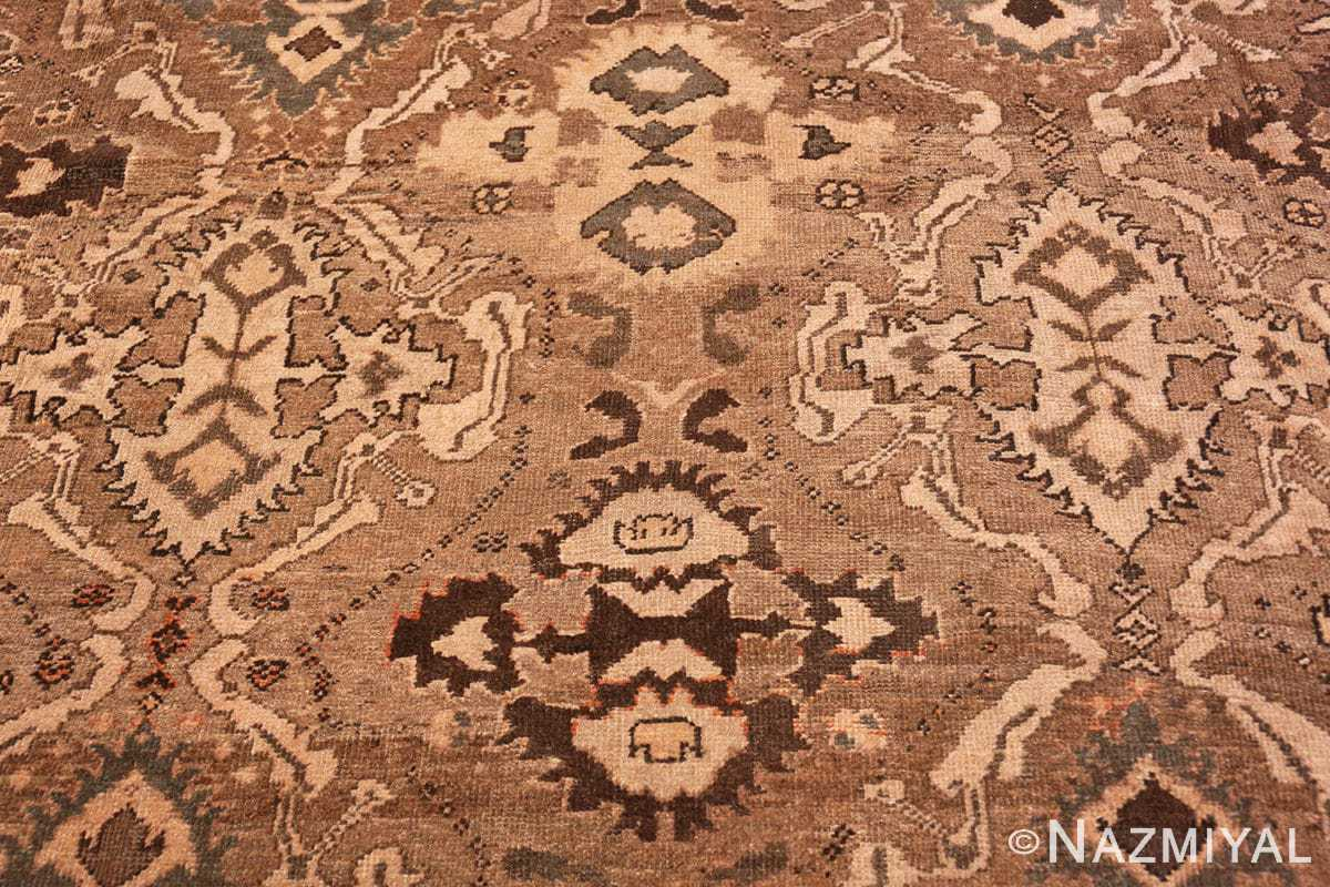Close-up Oversize Antique Persian Sultanabad rug 50060 by Nazmiyal