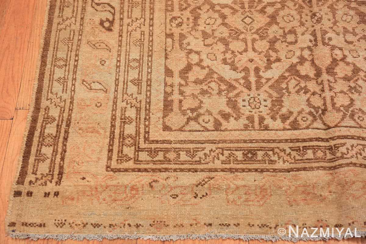 Corner Antique Persian Malayer runner 48308 by Nazmiyal
