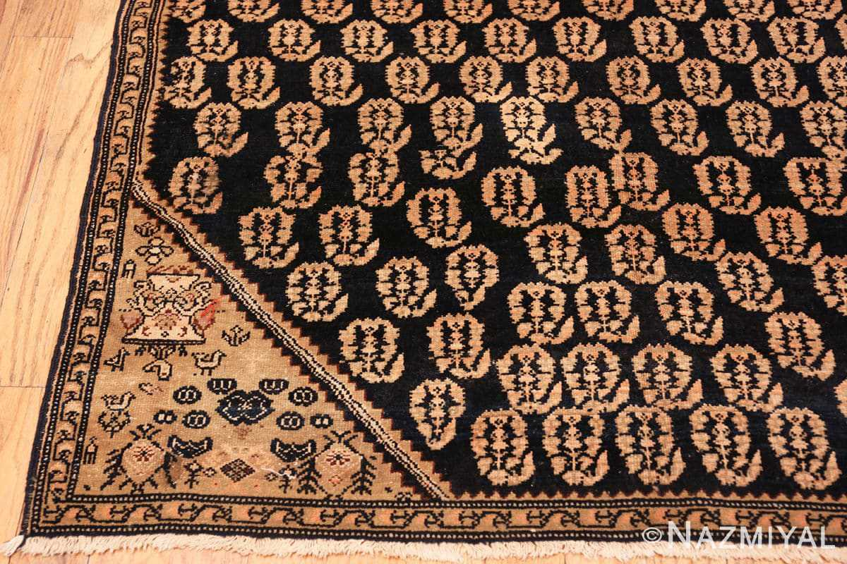 Corner Antique Persian Malayer runner rug 50153 by Nazmiyal