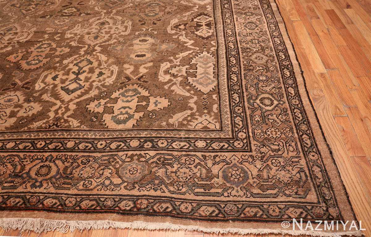 Corner Oversize Antique Persian Sultanabad rug 50060 by Nazmiyal