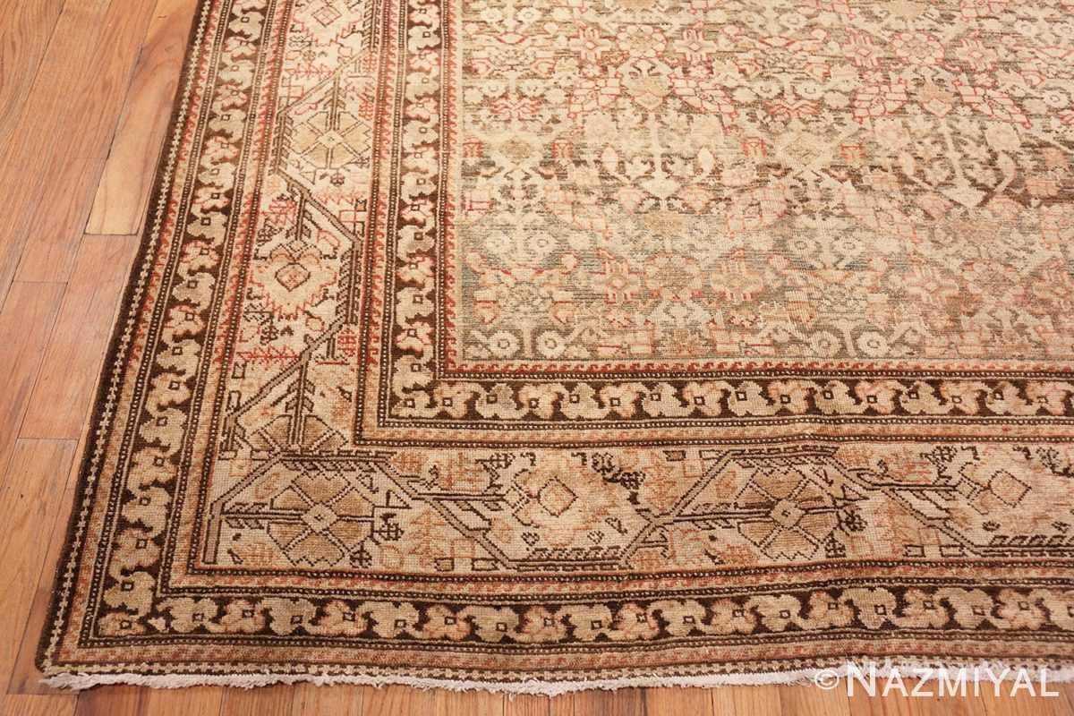 Corner Large decorative Antique Persian Malayer rug 50067 by Nazmiyal