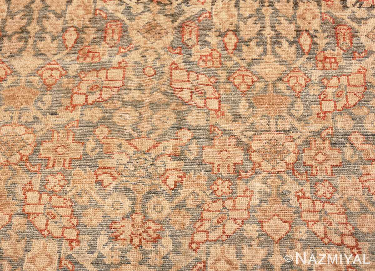Detail Large decorative Antique Persian Malayer rug 50067 by Nazmiyal