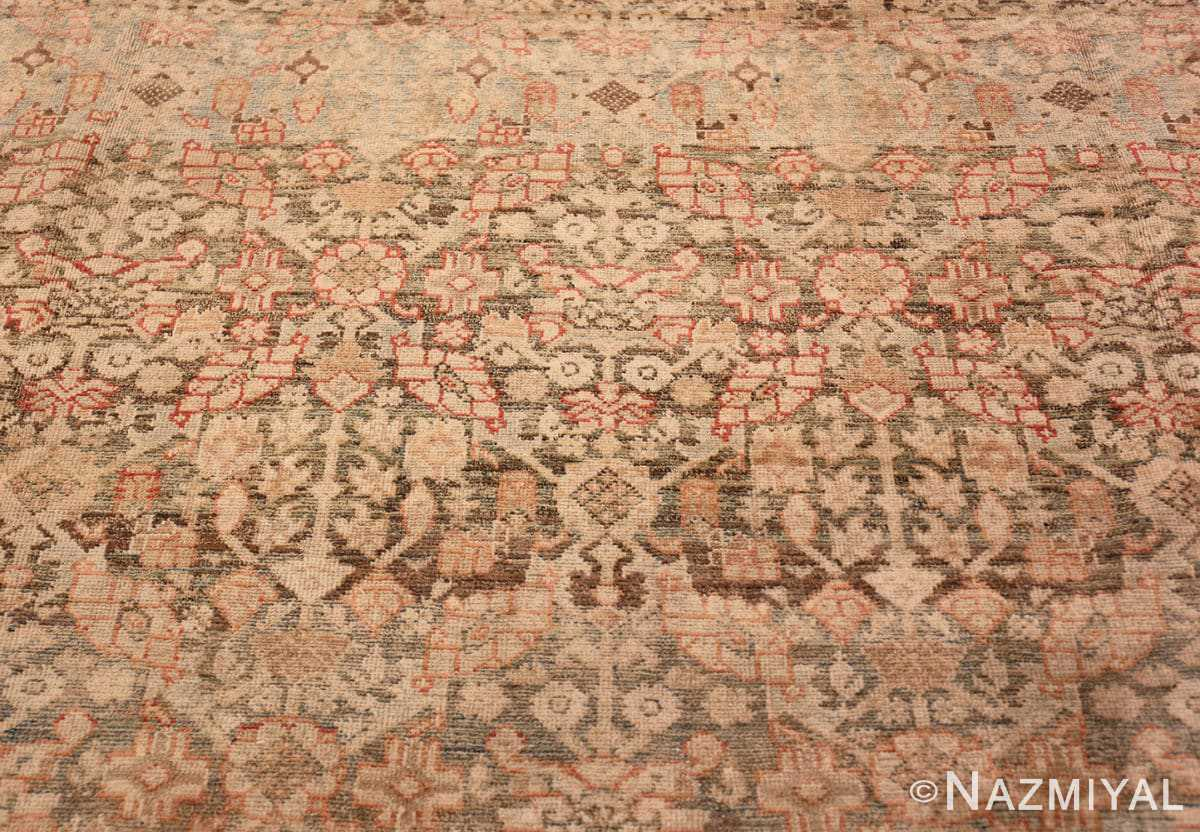Field Large decorative Antique Persian Malayer rug 50067 by Nazmiyal