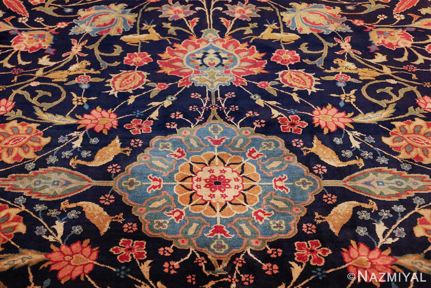 fine antique indian agra rug 48294 middle Nazmiyal