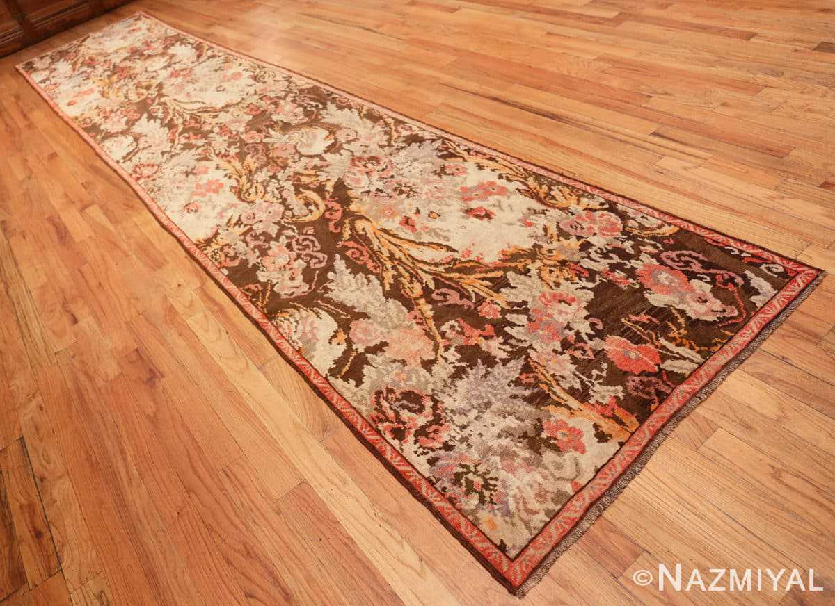 Full Antique Caucasian Karabagh runner rug 50141 by Nazmiyal