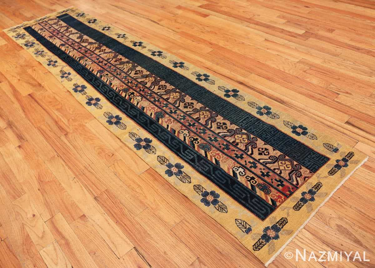 Full Antique Khotan runner rug from east Turkestan 48427 by Nazmiyal