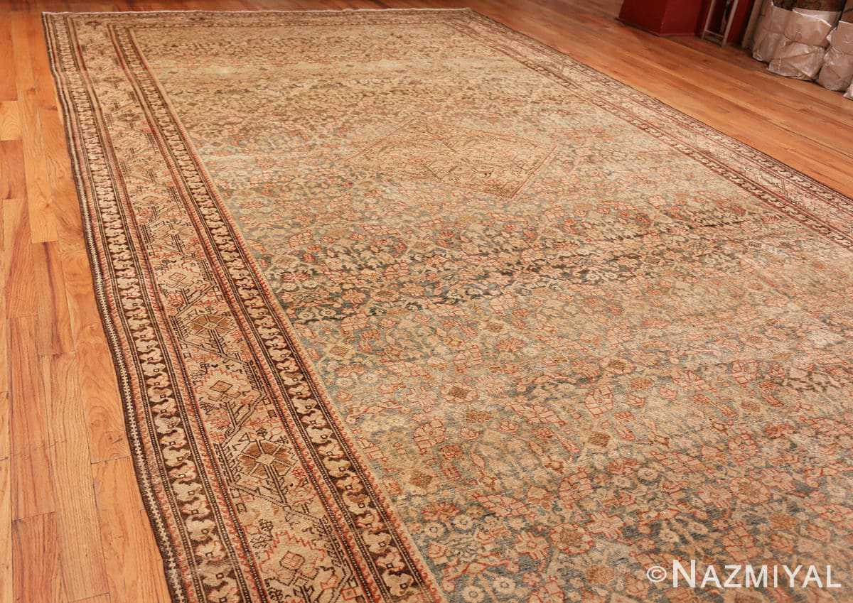 Full Large decorative Antique Persian Malayer rug 50067 by Nazmiyal
