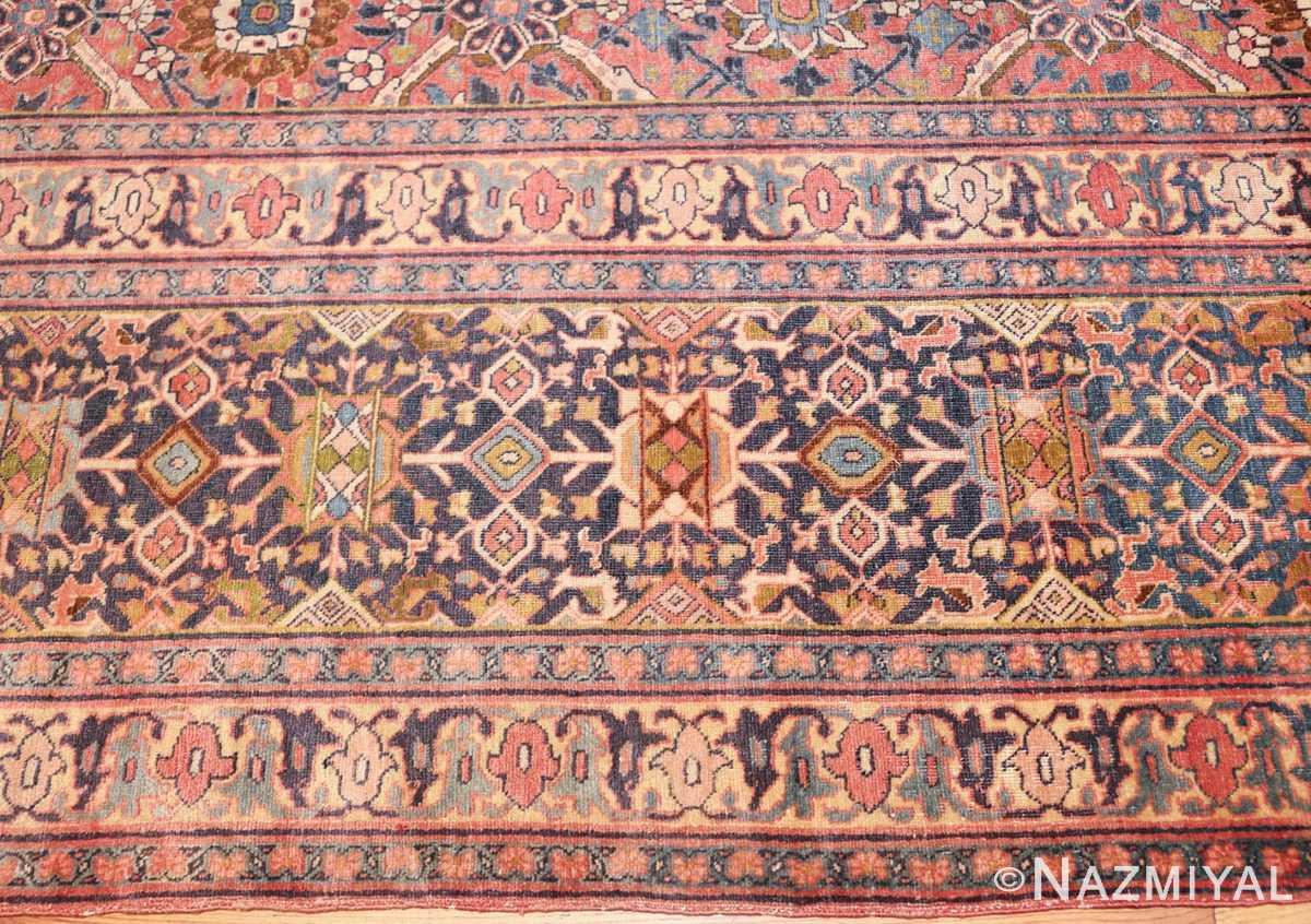 large antique persian tabriz rug 50107 border Nazmiyal