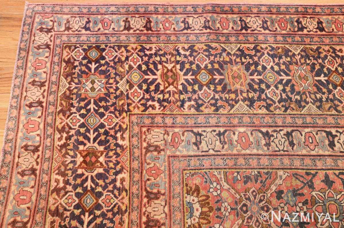 large antique persian tabriz rug 50107 corner Nazmiyal