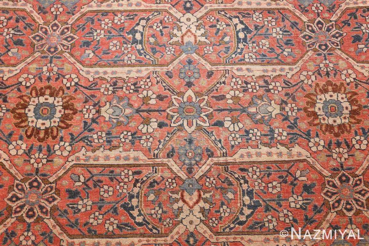large antique persian tabriz rug 50107 design Nazmiyal
