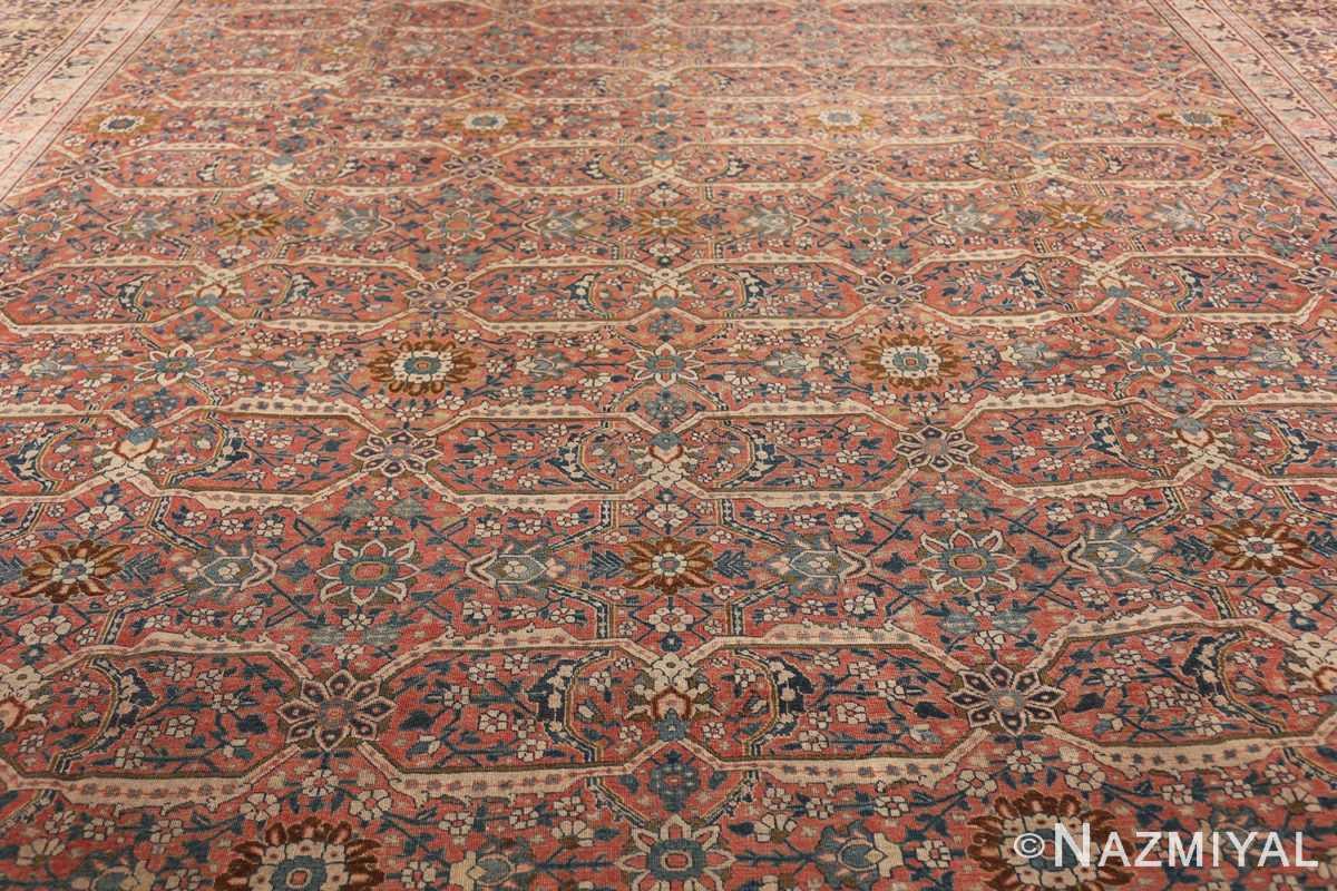 large antique persian tabriz rug 50107 field Nazmiyal
