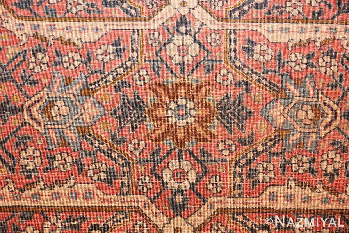 large antique persian tabriz rug 50107 flower Nazmiyal