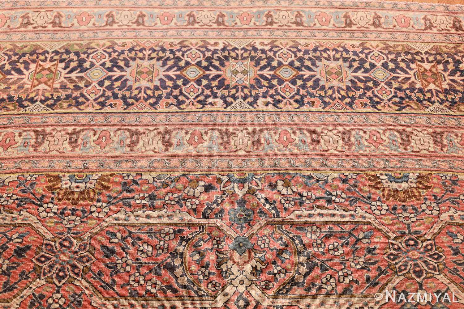 large antique persian tabriz rug 50107 top Nazmiyal