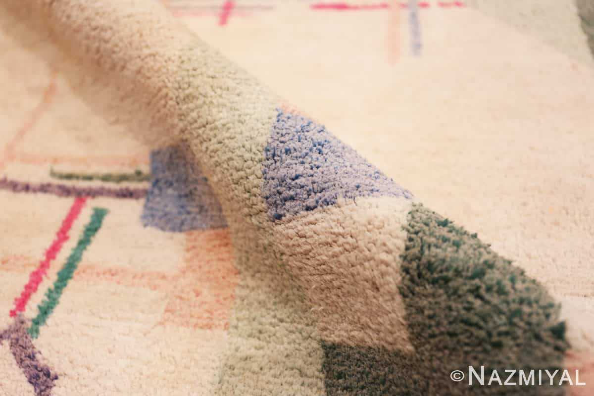 Pile Cotton Indian Art deco rug 48426 by Nazmiyal