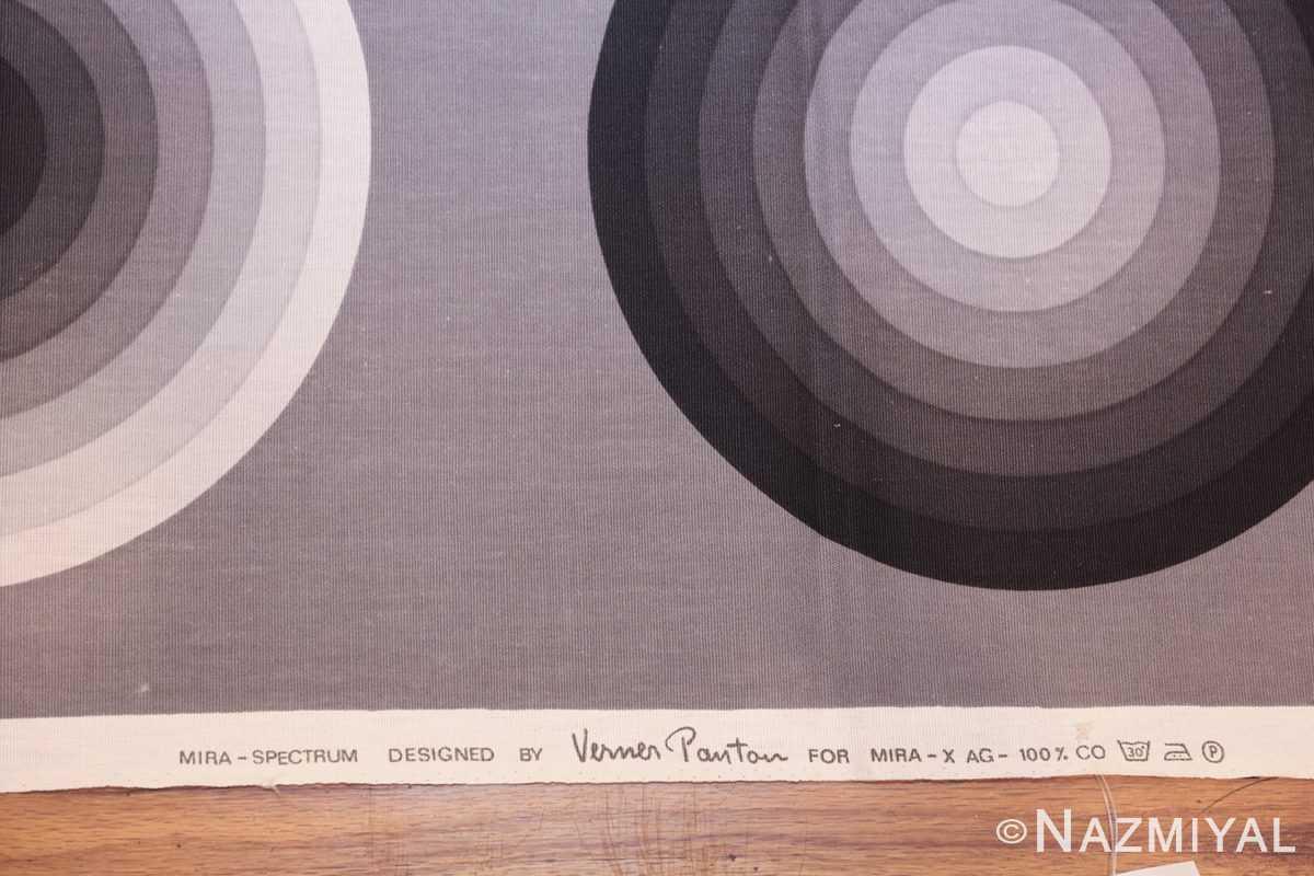 vintage Kreis verner panton textile 47809 field Nazmiyal