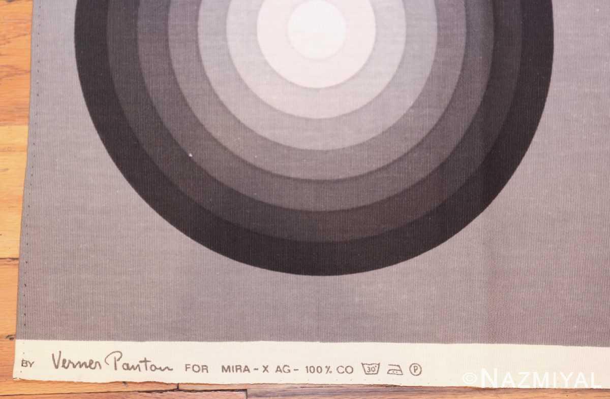 vintage Kreis verner panton textile 47809 tag Nazmiyal