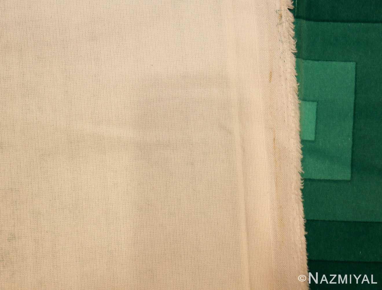 vintage green quadrat verner panton textile 47731 back Nazmiyal