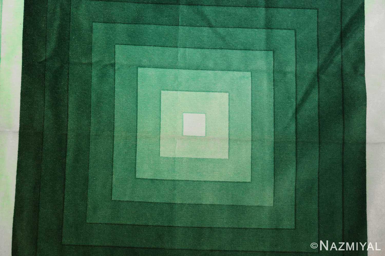 vintage green quadrat verner panton textile 47731 dark Nazmiyal
