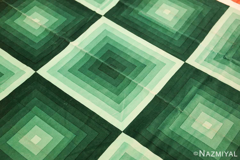 vintage green quadrat verner panton textile 47731 middle Nazmiyal