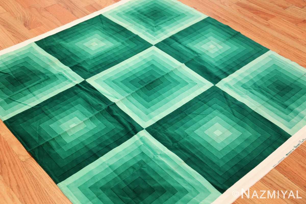 vintage green quadrat verner panton textile 47731 side Nazmiyal