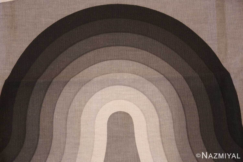 vintage kurve verner panton textile 47811 black Nazmiyal