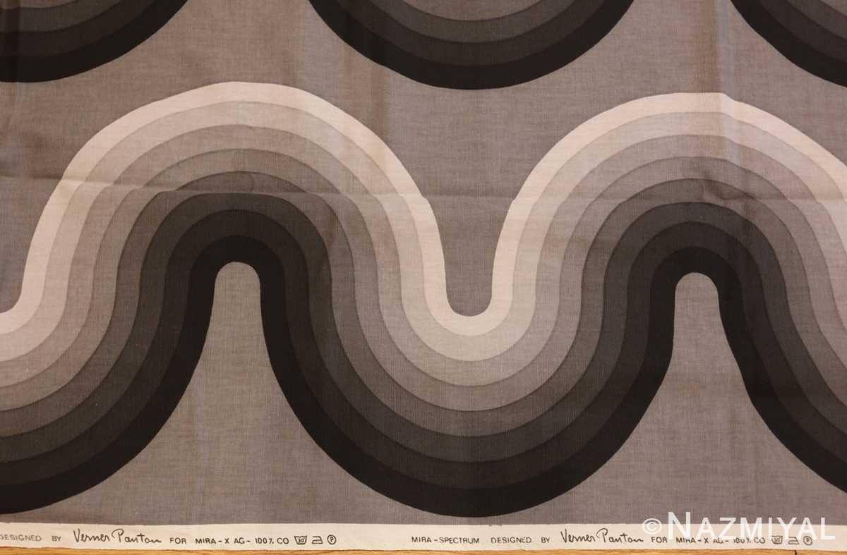vintage kurve verner panton textile 47811 border Nazmiyal
