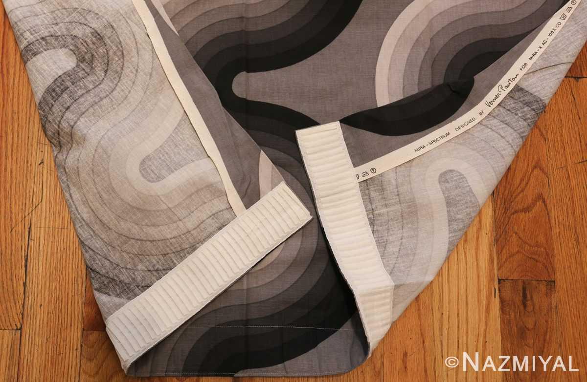 vintage kurve verner panton textile 47811 foldboth Nazmiyal