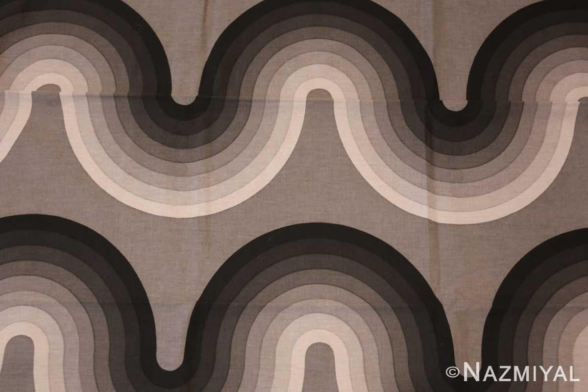 vintage kurve verner panton textile 47811 wave Nazmiyal