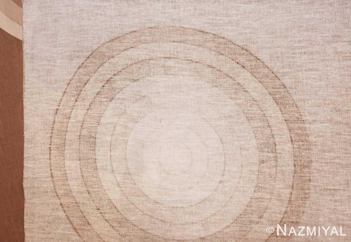 vintage tan kreis spectrum verner panton textile 47795 knots Nazmiyal
