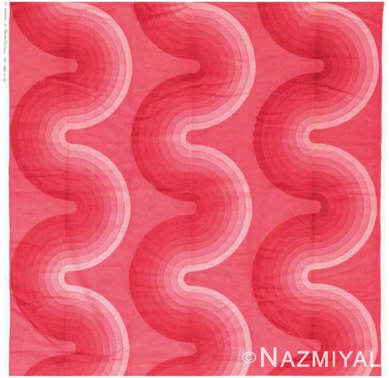 Vintage Verner Panton Textile 47710 Nazmiyal