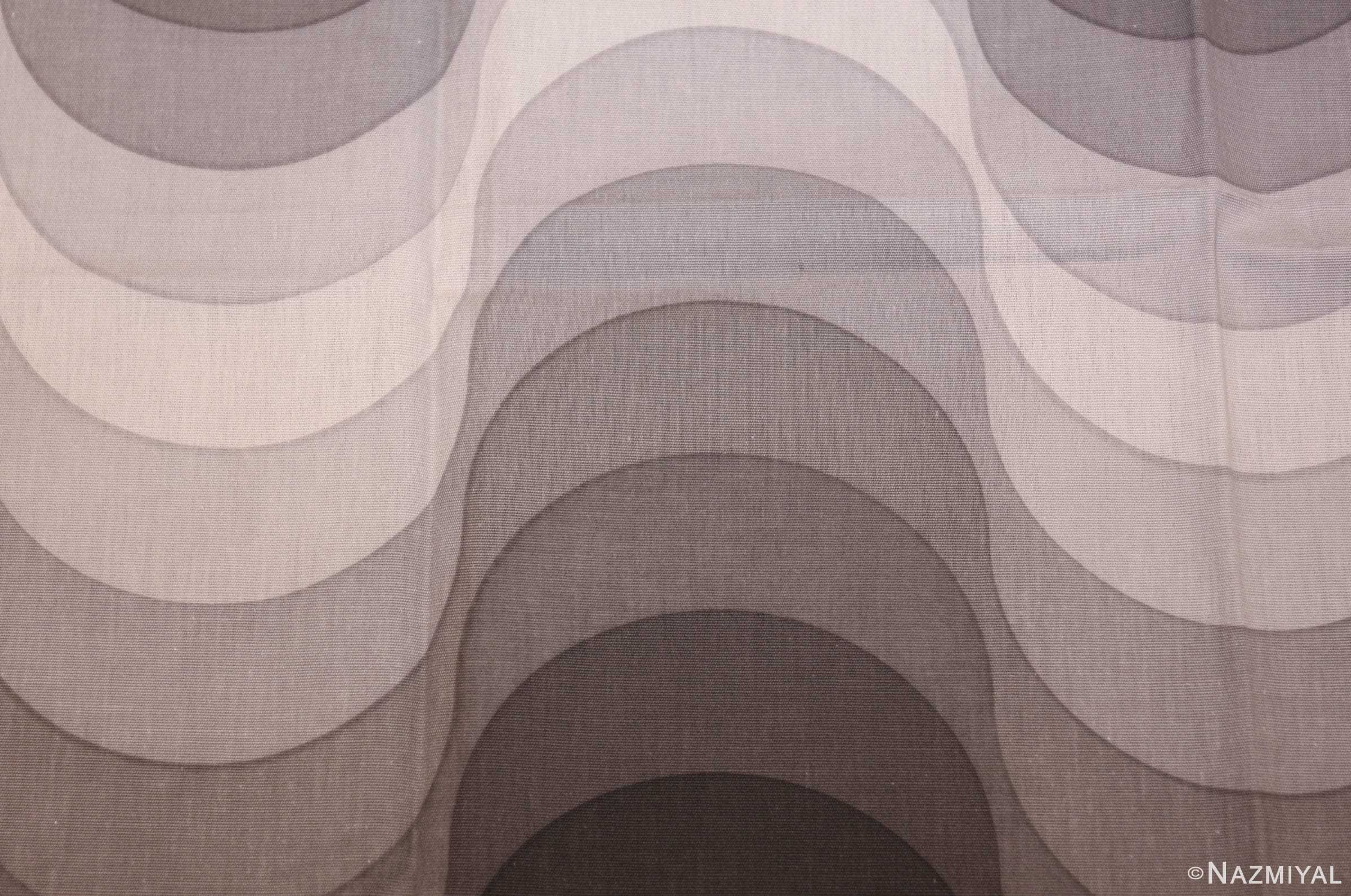 vintage welle wave verner panton textile 47808 pattern Nazmiyal