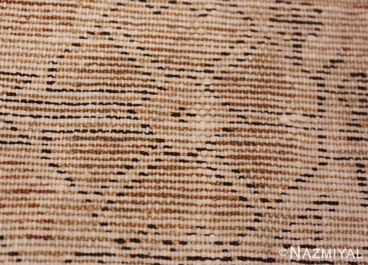 Weave detail Large decorative Antique Persian Malayer rug 50067 by Nazmiyal