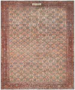 19th Century Persian Farahan Carpet 50116 Nazmiyal