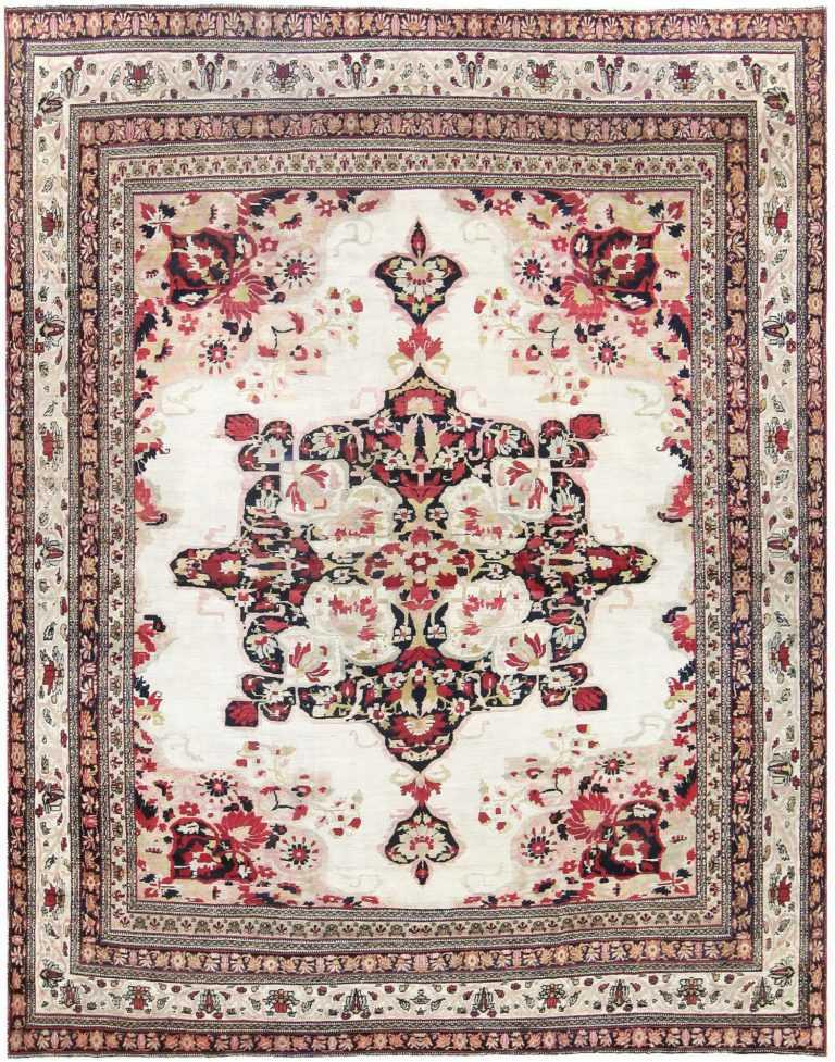 19th Century Persian Kerman Rug 50146 Detail/Large View