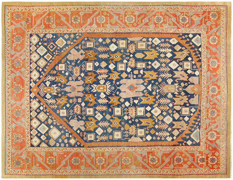 Antique Bakshaish Persian Carpet from the Estate of Dustin Hoffman 47610