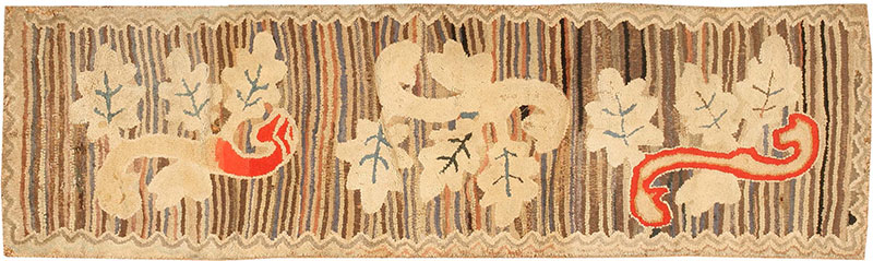 Antique American Hooked Rugs from Nazmiyal