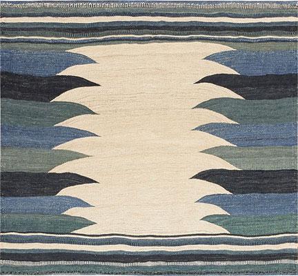 Vintage Tribal Gashgai Kilim 47617 Nazmiyal