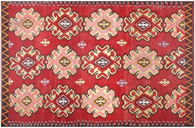 Vintage Turkish Kilim 50166 at Nazmiyal Collection