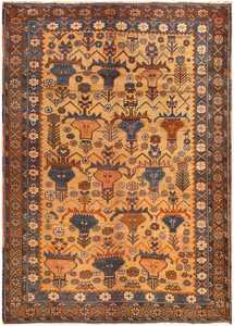 Antique Persian Afshar Rug by Nazmiyal