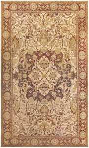 Antique Amritsar Indian Carpet 50201 Nazmiyal
