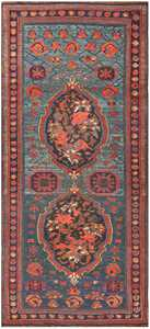 Antique Caucasian Soumak Rug 50006 Detail/Large View
